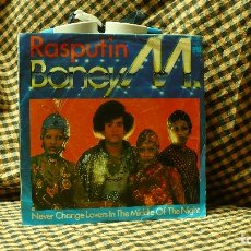 Discos de vinilo: BONEY M -- RASPUTIN / NEVER CHANGE LOVERS IN THE MIDDLE OF THE NIGHT, ARIOLA 1978.. Lote 176899855