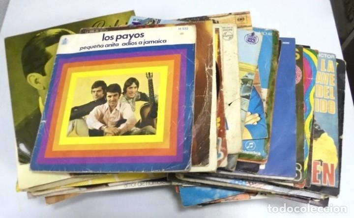LOTE DE 108 SINGLES. DIFERENTES ARTISTAS Y GENEROS. VER FOTOS (Música - Discos - Singles Vinilo - Otros estilos)