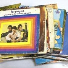 Discos de vinilo: LOTE DE 108 SINGLES. DIFERENTES ARTISTAS Y GENEROS. VER FOTOS. Lote 176901233