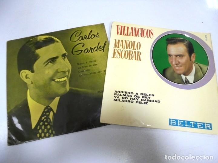 Discos de vinilo: LOTE DE 108 SINGLES. DIFERENTES ARTISTAS Y GENEROS. VER FOTOS - Foto 2 - 176901233