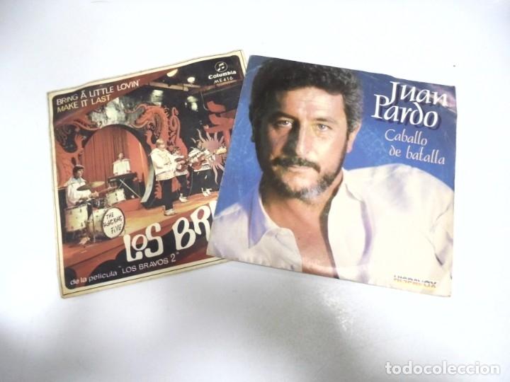 Discos de vinilo: LOTE DE 108 SINGLES. DIFERENTES ARTISTAS Y GENEROS. VER FOTOS - Foto 7 - 176901233