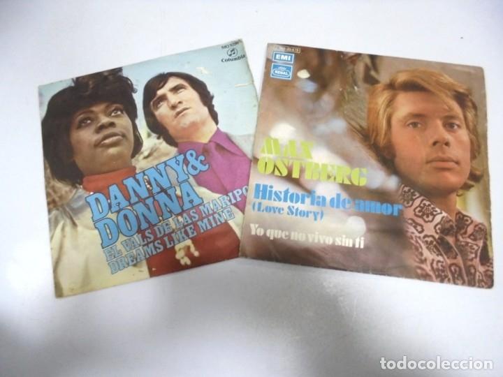 Discos de vinilo: LOTE DE 108 SINGLES. DIFERENTES ARTISTAS Y GENEROS. VER FOTOS - Foto 8 - 176901233