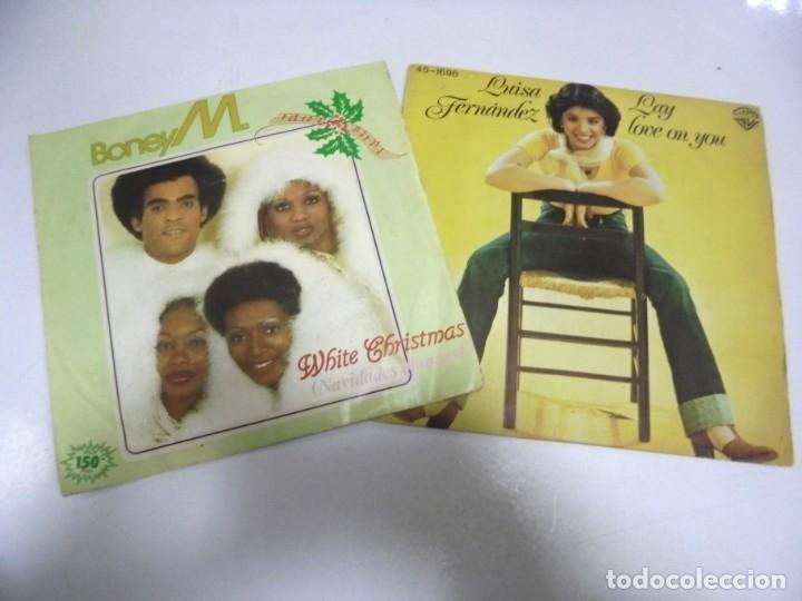 Discos de vinilo: LOTE DE 108 SINGLES. DIFERENTES ARTISTAS Y GENEROS. VER FOTOS - Foto 11 - 176901233