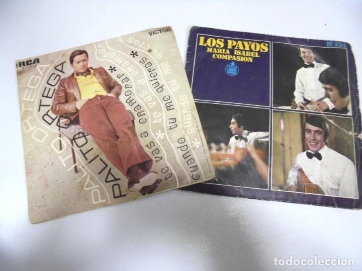 Discos de vinilo: LOTE DE 108 SINGLES. DIFERENTES ARTISTAS Y GENEROS. VER FOTOS - Foto 18 - 176901233