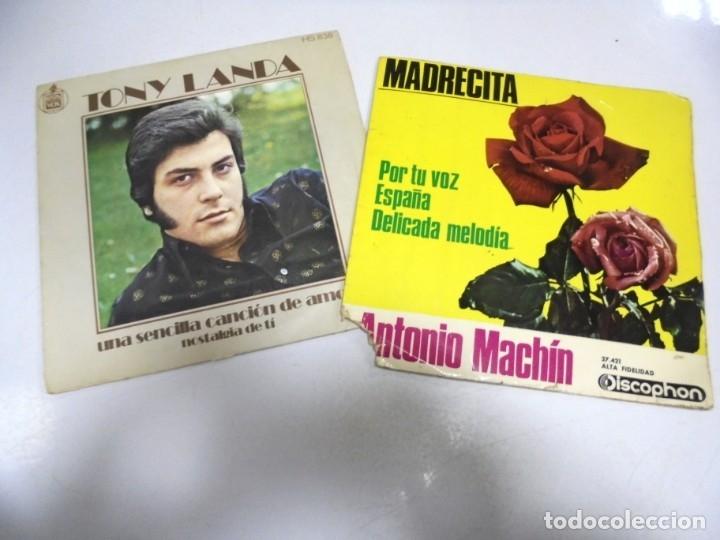Discos de vinilo: LOTE DE 108 SINGLES. DIFERENTES ARTISTAS Y GENEROS. VER FOTOS - Foto 21 - 176901233