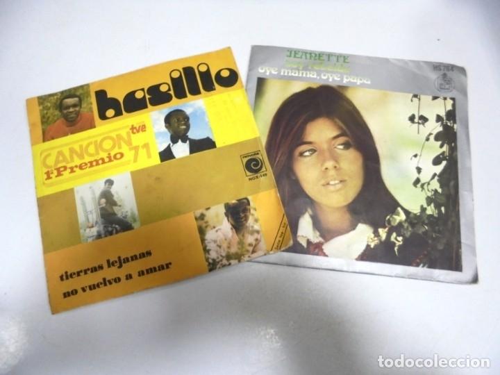 Discos de vinilo: LOTE DE 108 SINGLES. DIFERENTES ARTISTAS Y GENEROS. VER FOTOS - Foto 27 - 176901233