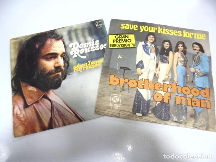 Discos de vinilo: LOTE DE 108 SINGLES. DIFERENTES ARTISTAS Y GENEROS. VER FOTOS - Foto 34 - 176901233