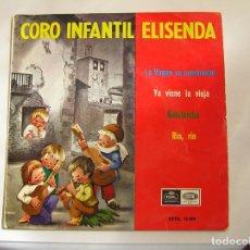 Discos de vinilo: CORO INFANTIL ELISENDA –- EMI 1965 - SINGLE - PL. Lote 176901967