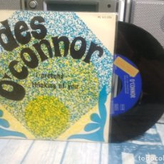 Discos de vinilo: DES O'CONNOR I PRETEND SINGLE SPAIN 1968 PDELUXE. Lote 176906345