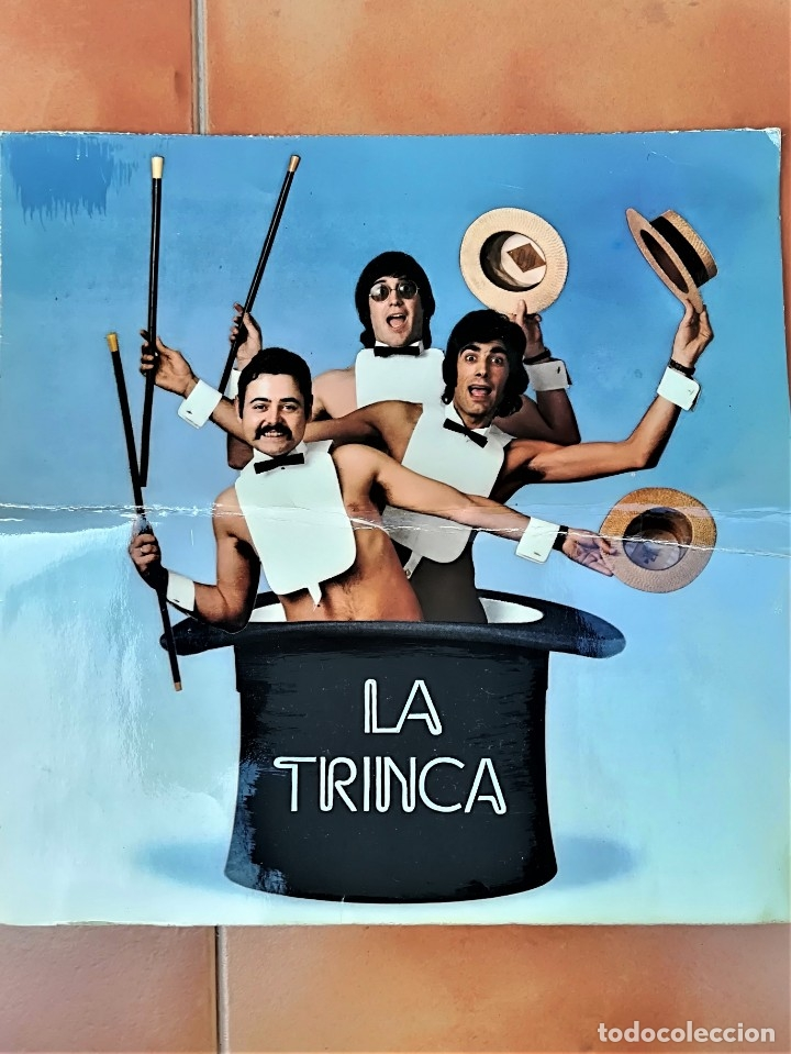 PORTADA ORIGINAL DE PRUEBA,DEL LP DEL GRUPO DE CATALUÑA LA TRINCA -CA BARRET- AÑO 1972, NOVA CANÇO (Música - Discos - LP Vinilo - Grupos Españoles de los 70 y 80)