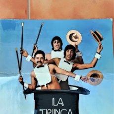 Discos de vinilo: PORTADA ORIGINAL DE PRUEBA,DEL LP DEL GRUPO DE CATALUÑA LA TRINCA -CA BARRET- AÑO 1972, NOVA CANÇO. Lote 176906693