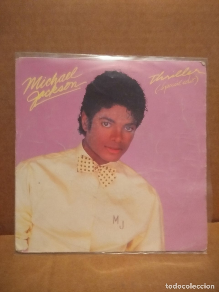 SG MICHAEL JACKSON : THRILLER ( SPECIAL EDIT ) + THE JACKSONS : THINGS I DO FOR YOU (Música - Discos - Singles Vinilo - Funk, Soul y Black Music)