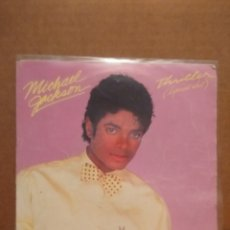 Discos de vinilo: SG MICHAEL JACKSON : THRILLER ( SPECIAL EDIT ) + THE JACKSONS : THINGS I DO FOR YOU. Lote 176908572