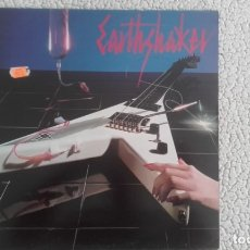 Discos de vinilo: EARTHSHAKER. EARTHSHAKER. PRIMER LP. MUSIC FOR NATIONS 1983. Lote 176921558