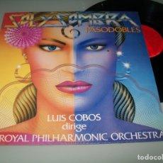Discos de vinilo: LUIS COBOS - SOL Y SOMBRA - PASODOBLES - CON LA ROYAL PHLILHARMINIC ORCHESTRA DE LONDRES ..LP DE1983. Lote 176925800