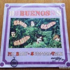 Discos de vinilo: LOS BUENOS - MY BABY 1969 ORIGINAL SINGLE. Lote 176937164