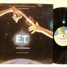 Discos de vinilo: E.T. / THE EXTRA TERRESTRIAL 1982 !! JOHN WILLIAMS, STEVEN SPIELBERG !! COLLECTOR EDIT. ORG USA, EXC. Lote 176938567