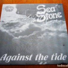 Discos de vinilo: SEA STONE - AGAINST THE TIDE UK 1982 ROCK PROGRESIVO ORIGINAL EP - 4 NO-LP TRACKS. Lote 176941275