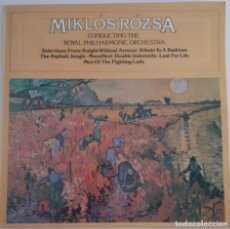 Discos de vinilo: MIKLOS ROZSA CONDUCTING THE ROYAL PHILARMONIC ORCHESTRA. Lote 176942872