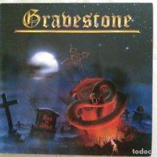 Discos de vinilo: GRAVESTONE. BACK TO ATTACK. SCRATCH RECORDS 1985.. Lote 176920902