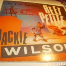 Discos de vinilo: MAXI SINGLE JACKIE WILSON REET PETITE. SANNI RECORDS 1987 SPAIN (PROBADO Y BIEN). Lote 176948385