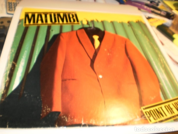 LP MATUMBI. POINT OF VIEW. EMI AMERICA USA 1979 NUNCA EXPUESTO EN TC (DISCO PROBADO Y BIEN) (Música - Discos - LP Vinilo - Reggae - Ska)