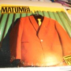 Discos de vinilo: LP MATUMBI. POINT OF VIEW. EMI AMERICA USA 1979 NUNCA EXPUESTO EN TC (DISCO PROBADO Y BIEN). Lote 176948587