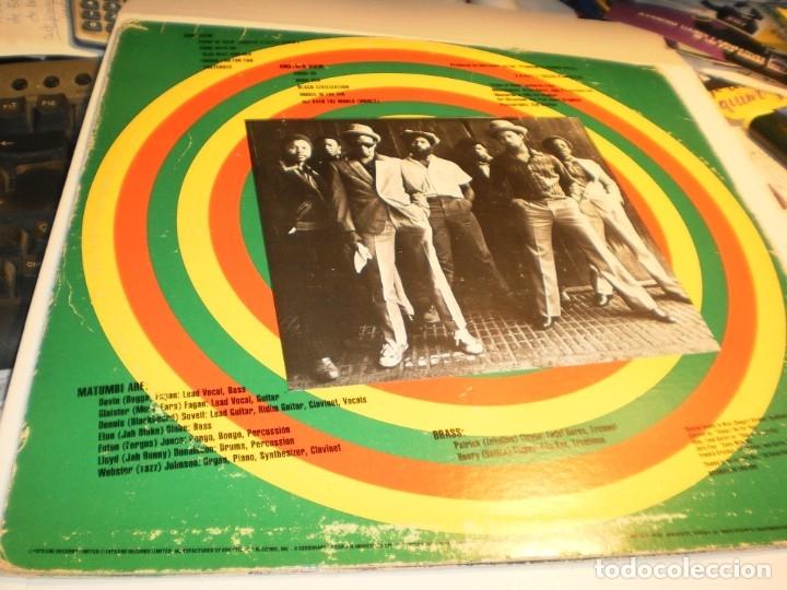 Discos de vinilo: lp matumbi. point of view. emi america usa 1979 nunca expuesto en TC (disco probado y bien) - Foto 2 - 176948587