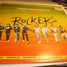 Discos de vinilo: LP ROCKERS. THE ORIGINAL SOUNDTRACK FROM THE FILM. ISLAND 1979 FRANCE (PROBADO Y BIEN). Lote 206799440