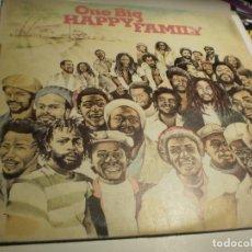 Discos de vinilo: LP ONE BIG HAPPY FAMILY. ISLAND 1979 SPAIN (PROBADO Y BIEN). Lote 176949317