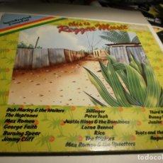 Discos de vinilo: LP 2 DISCOS THIS IS REGGAE MUSIC. ISLAND 1976 GERMANY CARPETA DOBLE (PROBADO Y BIEN). Lote 176949382