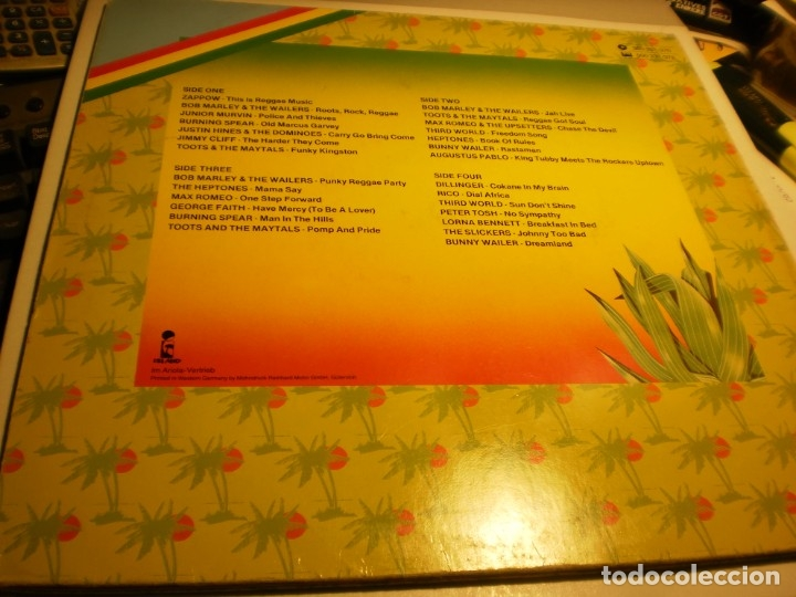 Discos de vinilo: lp 2 discos this is reggae music. island 1976 germany carpeta doble (probado y bien) - Foto 2 - 176949382