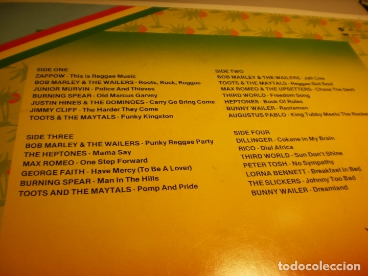 Discos de vinilo: lp 2 discos this is reggae music. island 1976 germany carpeta doble (probado y bien) - Foto 3 - 176949382