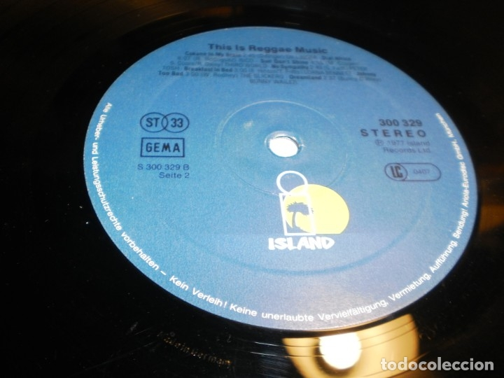 Discos de vinilo: lp 2 discos this is reggae music. island 1976 germany carpeta doble (probado y bien) - Foto 8 - 176949382