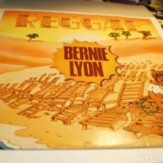 Discos de vinilo: LP BERNIE LYON. REGGAE. BARCLAY 1980 SPAIN (PROBADO Y BIEN). Lote 176949455