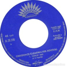 Discos de vinilo: CREEDENCE CLEARWATER REVIVAL TRAVELIN' BAND (SINGLE) . JOHN FOGERTY ROCK AND ROLL. Lote 176949882