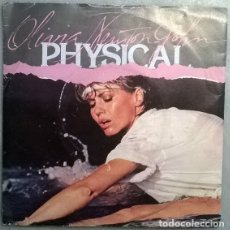 Discos de vinilo: OLIVIA NEWTON JOHN. PHYSICAL/ THE PROMISE (THE DOLPHIN SONG). EMI, UK 1981 SINGLE. Lote 176954634