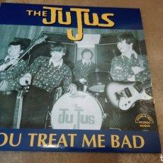 Discos de vinilo: THE JUJUS–YOU TREAT ME BAD - LP VINILO NUEVO. GARAGE MUSIC.. Lote 176959339