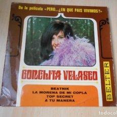 Discos de vinilo: CONCHITA VELASCO - DE LA PELÍCULA PERO... ¿EN QUE PAIS VIVIMOS? -, EP, BEATNIK + 3, AÑO 1967. Lote 176959882