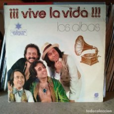 Discos de vinilo: LOS ALBAS - LP VINILO 12'' - ¡VIVE LA VIDA! - EDITADO EN ESPAÑA - IMPACTO 1978. Lote 176966903