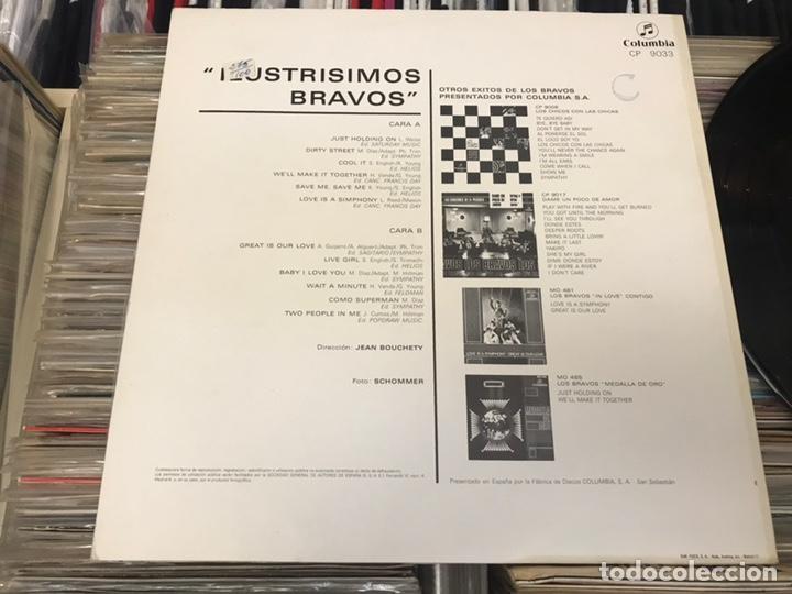Discos de vinilo: Los bravos Ilustrísimos bravos Columbia lp disco de vinilo - Foto 8 - 176967712