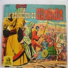 Discos de vinilo: VARIOUS – LA RENDICIÓN DE GRANADA - ODEON 1960 - SINGLE - PL. Lote 176971103
