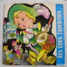 Discos de vinilo: ELS TRES TAMBORS - PALOBAL 1966 - SINGLE - PL. Lote 176972312
