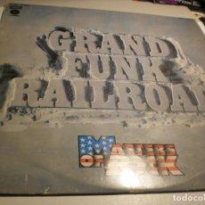 Discos de vinilo: LP GRAND FUNK RAILROAD. MASTER OF ROCK. CAPITOL 1975 SPAIN (DISCO PROBADO Y BIEN). Lote 176974180