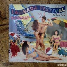 Discos de vinilo: SAND PARTY – LAMBADA FESTIVAL SELLO: RCA – PT49274, BMG – PT49274, RCA – PT 49274, BMG – PT 49. Lote 176976749