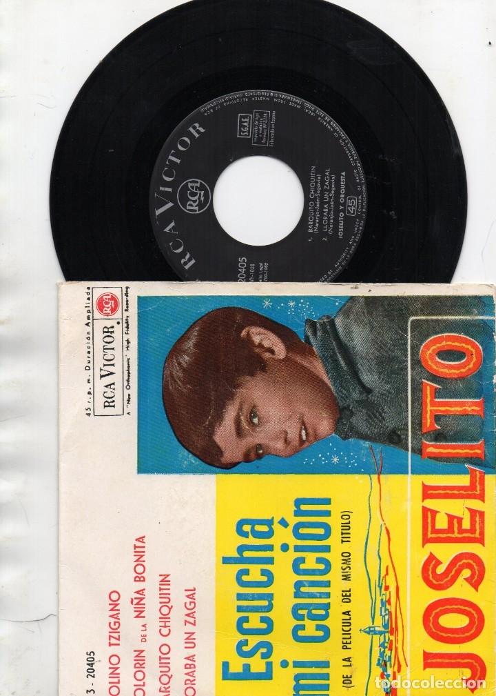 EP 1962 - JOSELITO - ESCUCHA MI CANCIÓN - VIOLINO TZIGANO + 3 (Música - Discos - Singles Vinilo - Otros estilos)
