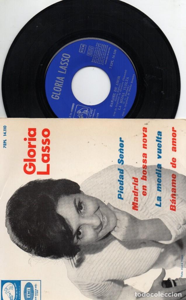 EP 1964 - GLORIA LASSO - MADRID EN BOSSA NOVA + 3 (Música - Discos - Singles Vinilo - Otros estilos)