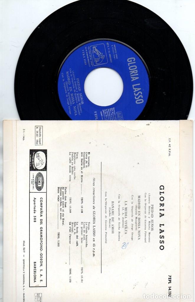 Discos de vinilo: EP 1964 - GLORIA LASSO - MADRID EN BOSSA NOVA + 3 - Foto 2 - 176986075