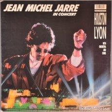 Disques de vinyle: JEAN MICHEL JARRE– IN CONCERT / HOUSTON-LYON -VINYL, LP, ALBUM, GATEFOLD SPAIN 1987. Lote 176986264