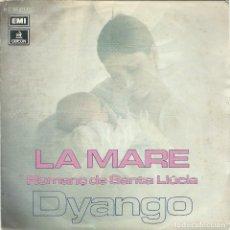 Disques de vinyle: DYANGO, LA MARE (EMI 1977) -SINGLE-. Lote 176987318